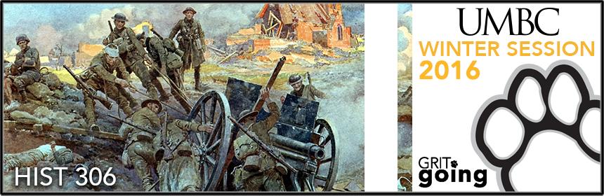 HIST 306: The First World War