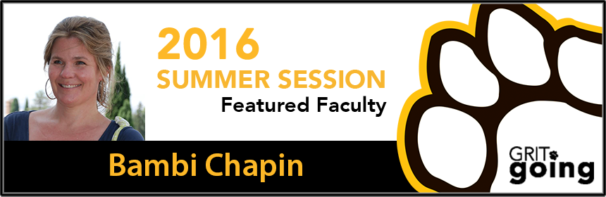 Featured Faculty Bambi Chapmin
